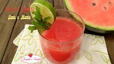 Succo anguria lime e menta