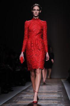 Valentino: Runway - Paris Fashion Week Womenswear Fall/Winter 2012