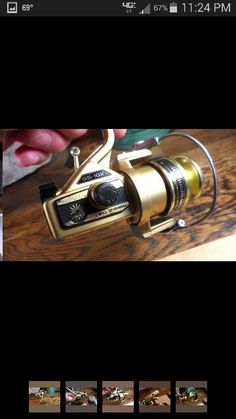 My all time favorite fishing reel. Not the best but in the 70s and 80s it was a lot of fun.