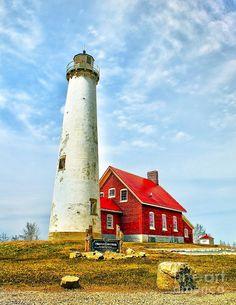 Tawas Michigan Lighthouse Fine Art Print