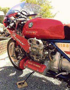Alfa Romeo 33 1500cc boxer bike