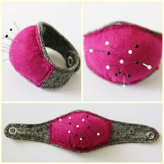 DIY wrist pin cushion