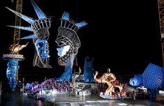 set design - The Marvelous Floating Stage of the Bregenz Festival