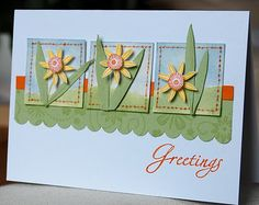 Itty Bitty Buds spring card
