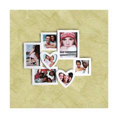 Ak hľadáte romantický darček, potom je tento romantický fotorámček so srdiečkami presne to, čo hľadáte!
