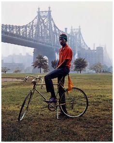 Evelyn Hofer - Queensboro Bridge, New York, 1964