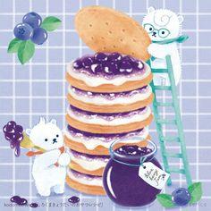 Pancakes, Breakfast, Food, Twitter, Illustration, Art, Morning Coffee, Art Background, Essen