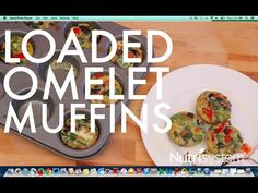 Video: Loaded Omelet Muffins - The Leaf