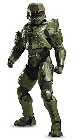 Disguise Men s Halo Master Chief Ultra Prestige Costume f814b3d4b7bc