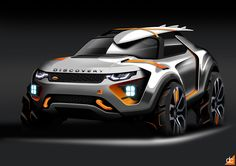 Land Rover DiscoveryX on Behance