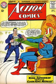 Red Kryptonite gives Superman a split personality (yeah, like the mutant Madrox)! Also: WTLL is going on with Supergirl?