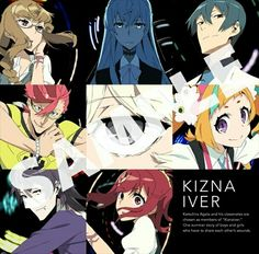 Kiznaiver Op「LAY YOUR HANDS ON ME」