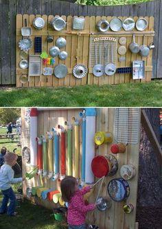 backyard patio designs Some Nice DIY Kids Playground Ideas for Your Backyard Nette DIY Kinderspielplatz-Ideen fr Hinterhof 47 Kids Outdoor Play, Outdoor Play Spaces, Kids Play Area, Backyard For Kids, Diy For Kids, Garden Kids, Outdoor Fun, Backyard Games, Diy Garden Ideas For Kids