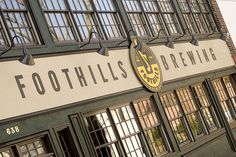 Foothills Brewing Signage