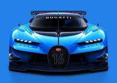 Bugatti Vision Gran Turismo Virtual Racing Car