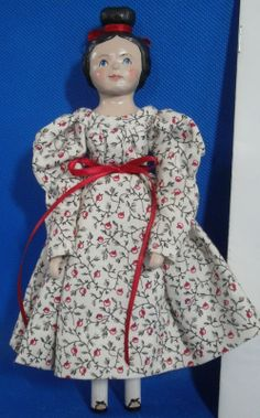 Hitty Wooden Doll for Norfolk Doll Club 2006 | eBay