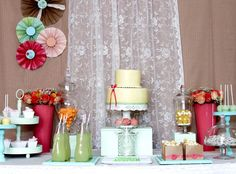 A Spring Affair dessert table
