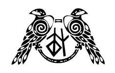 Pics For > Huginn And Muninn Runes
