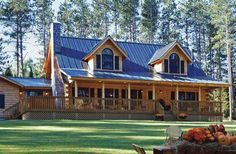 Northeast Log Home Plans  House Plans