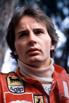 Gilles Villeneuve at Mosport in the mid to late seventies, when he was driving Formula Atlantic