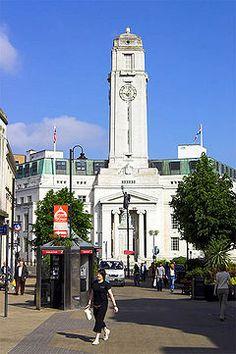 Luton, England...town center....I love Luton!