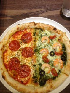Awesome!! A pizza connoisseur and seafood lover like myself is in heaven in Japan.