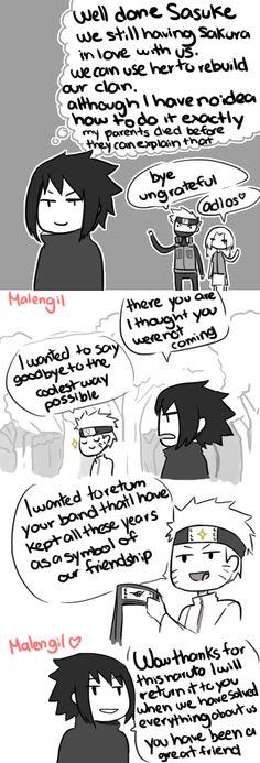 Naruto Shippuden 699 parody fan comic by malengil. Page 8