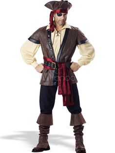 Halloween Men's Pirate Costume #Halloween #costume