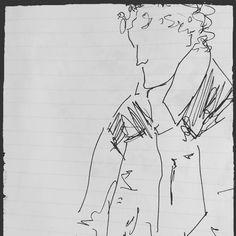 Repasando cuadernos aparecen siempre dibujos y apuntes que habías olvidado... Pequeño homenaje a @rafaelobrero artista cordobés de talento y sensibilidad con quién compartimos participación en #galeriasmodernas mercado de diseño hace apenas unos días... #drawing sketchbook #watercolor #Córdoba #caminaescribedibuja