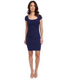 Susana Monaco Melanie Dress Inkwell - 6pm.com