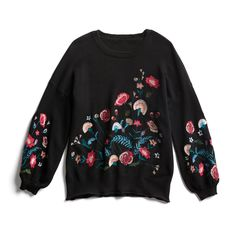 Stitch Fix Fall Stylist Picks: Floral embroidered sweater
