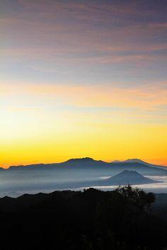 "musts: ""Mt. Bromo - Sunrise by Monika Suryadi Mt. Bromo, Tengger massif, East Java, Indonesia """