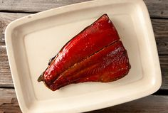 smoked sockeye 600px 5 pounds salmon, trout or char 1 quart cool water 1/3 cup Diamond Crystal kosher salt (about 2 ounces of any kosher salt) 1 cup brown sugar 1/2 cup birch syrup or maple syrup 2lb fish or .9 kg 400 ml cool water 32ml sea salt 95ml brown sugar 50ml birch syrup or maple syrup