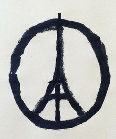 """The story behind the popular """"Peace for Paris"""" image"""