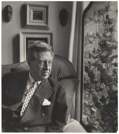 Osbert Sitwell, photo by Cecil Beaton, 1953