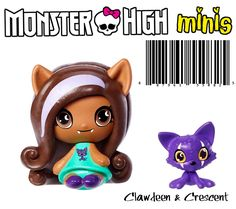 Monster High Mini Clawdeen & Pet