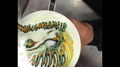 Latte Art - Rainbow Latte - how to