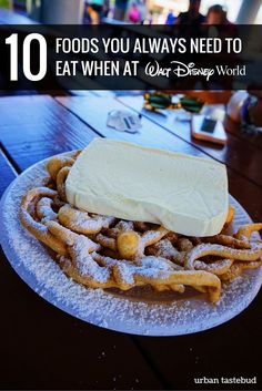 Best Disney World Foods For Every Trip