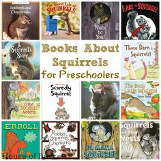 Books About Squirrels for Preschoolers - House of Burke