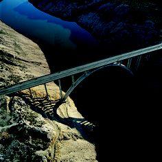 Maslenica Bridge Near Zadar (Croatia) Photographer: Damir Fabijanić Love Bridge, Croatian Islands, Covered Bridges, Pathways, Roads, Countries, Scenery, Stairs, World