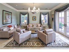 226 Tupelo RD, Naples, FL 34108 | Elegant and comfortable formal living room in Pine Ridge Estates