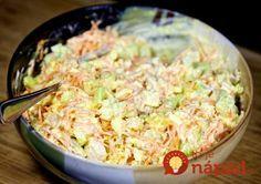Recepty - Strana 16 z 44 - Vychytávkov Ketogenic Recipes, Diet Recipes, Cooking Recipes, Healthy Recipes, Czech Recipes, Ethnic Recipes, Salty Foods, Blue Food, Cabbage Salad