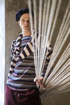 retro stripe - Antonio Marras Spring 2017 Menswear Fashion Show