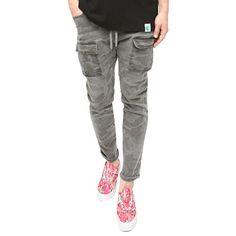앞포켓 카모 팬츠 NEED 니드 [NEED] Front Pocket Camo Jogger Pants Multi