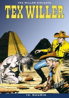 Tex Willer Kirjasto: Tex Willer - 13. muumio