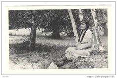 RP; Indian woman Princess Ella Petoskey , GOOD HART , Michigan , 1940s Item number: 131372102 SCVIEW on Delcampe.com