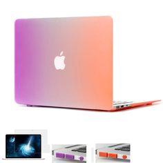 806226ab61 Matte Rainbow Hard Protector Case for Macbook air 11 13 inch Cover For  Macbook Pro 13 15 inch for Macbook Pro Retina 12 13 15