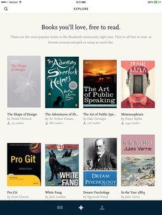 flat design / books / Explore / from Readmill