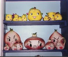 PY Anthropomorphic Pears and DeForest Bar-B-Cutie Onions