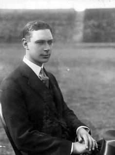 King George VI as a young man